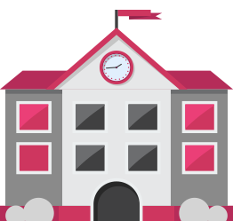 Illustration of school