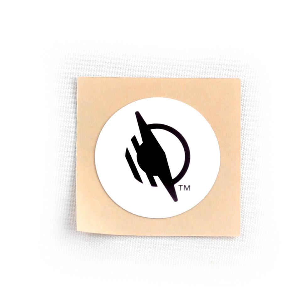 Round WayTag sticker